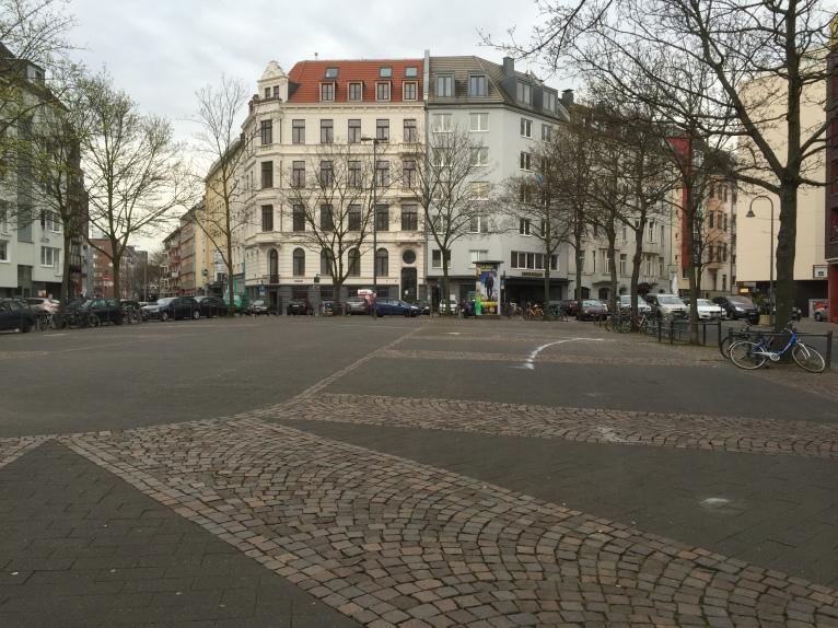 Sudermanplatz im Agnesviertel