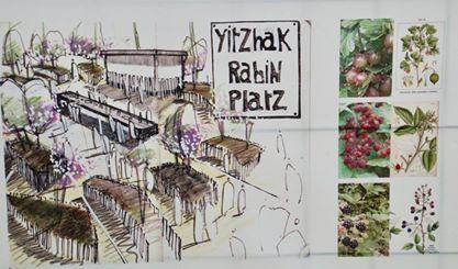 Entwurf zur Aufwertung des Yitzhak-Rabin-Platzes