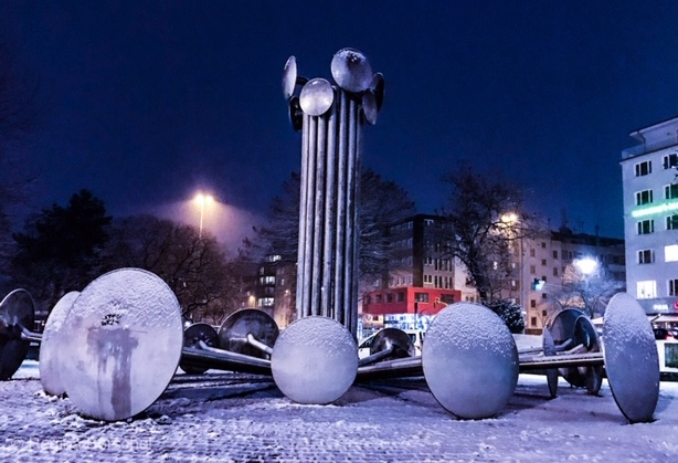 Ebertplatz Winter